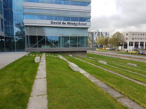 buitenruimte, BK ingenieurs, David de Wiedgebouw, Ubiversiteit Utrecht, OKRA Landschapsarchitecten, engineering, definitief ontwerp