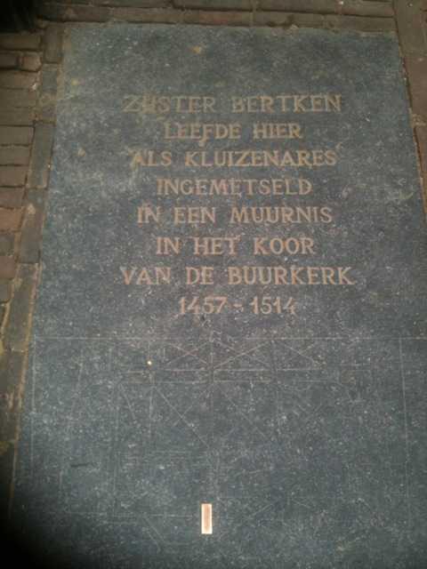 BK ingenieurs, escaperoom, Zuster Bertken
