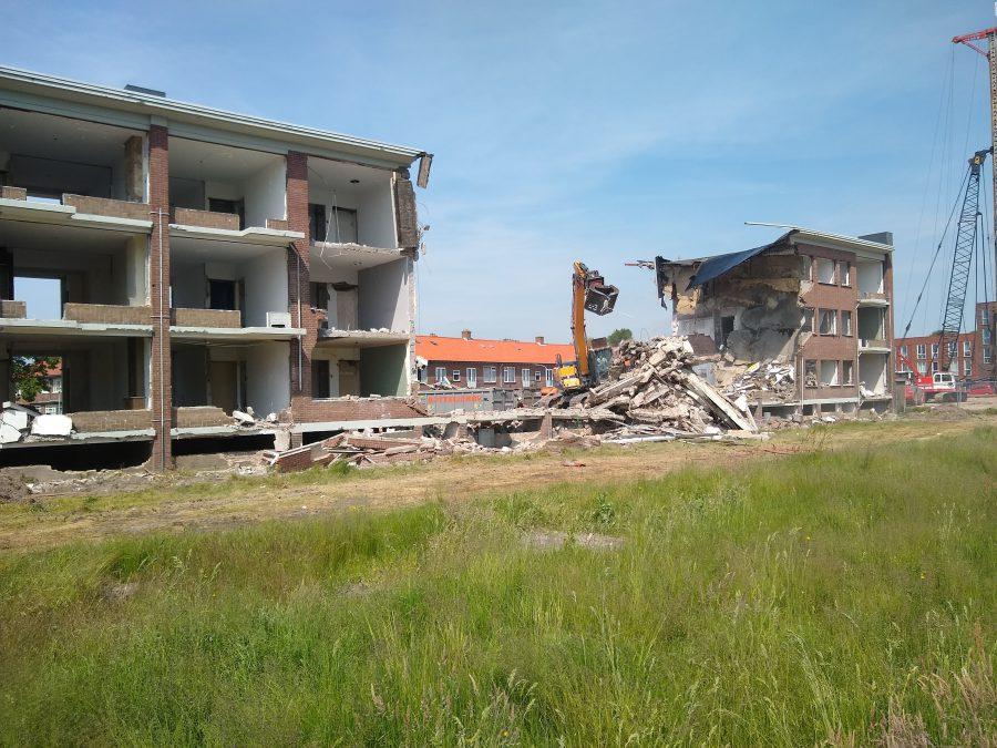 BK ingenieurs, sloop, asbestsanering, bouwrijp maken, J.J. Hamelinkstraat, Haarlem, Bottelier, BK Projectmanagement